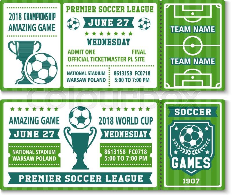 soccer championship 2018 or football cup premier league tournament