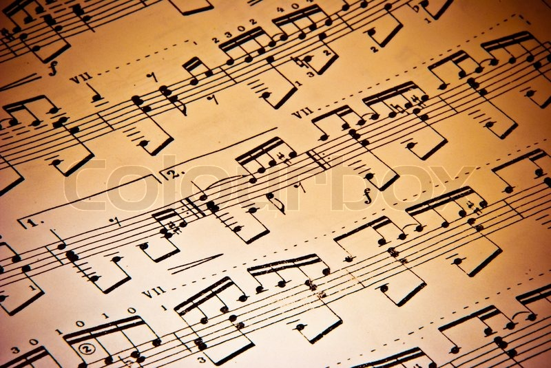Vintage Music Note Wallpapers For Android Harmony: Music Background Of Classical Notes
