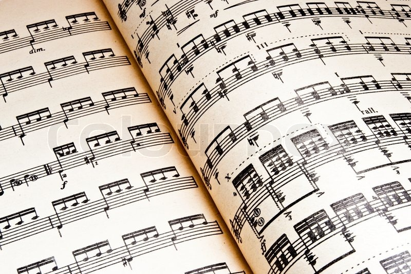 Music Background Of Classical Notes