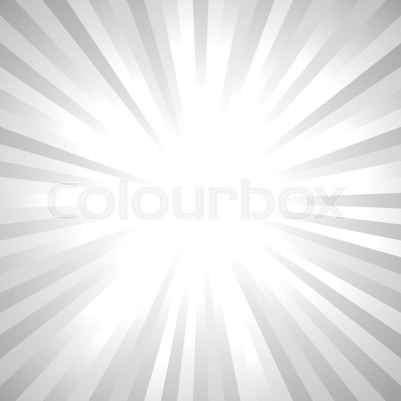 b38c855f997 Grey abstract sun rays background - ...   Stock vector   Colourbox
