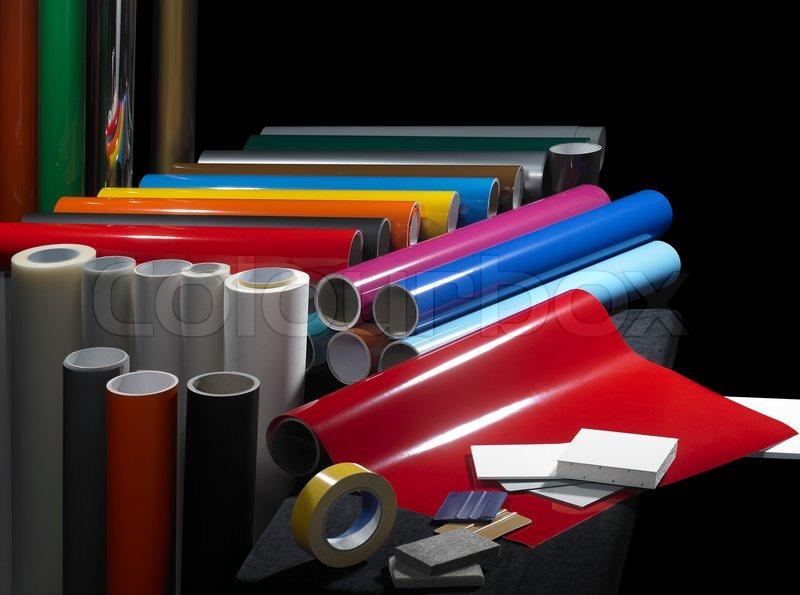 Sign Making Materials Stock Photo Colourbox