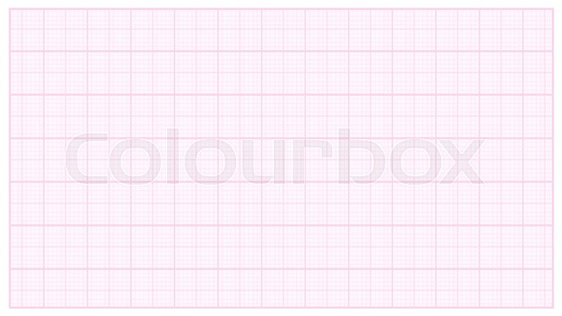 millimeter paper vector pink graphing paper for technical