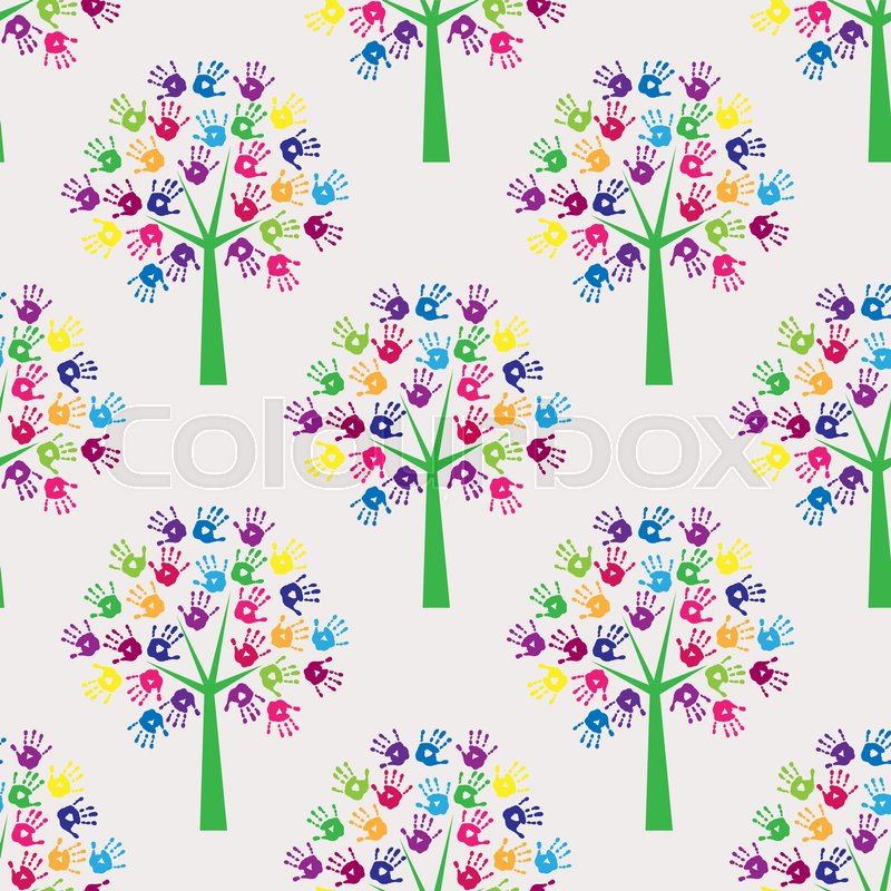 Abstract Seamless Background With A Symbols Of Creativity Stock