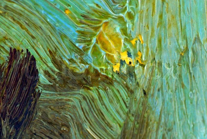 colorful oil painting texture closeup macro stock photo colourbox