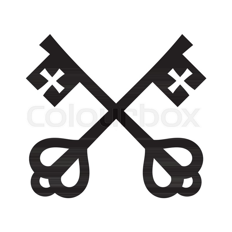 The Keys Of St Peter Keys To The Kingdom Of Heaven Papal Keys