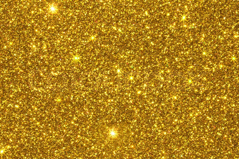 Gold Glitter Texture Surface Stock Image Colourbox