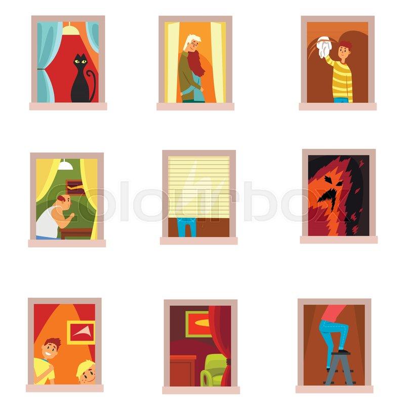 Windows Clip Art People - #1 Clip Art & Vector Site •