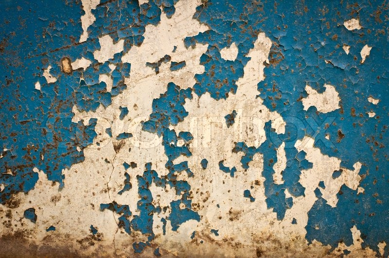 Texture Of Old Paint On The Wall Stock Photo Colourbox