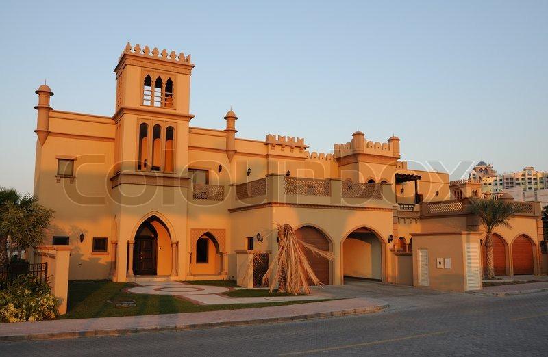 Wohnhaus in dubai vereinigte arabische emirate for Home of architecture uae