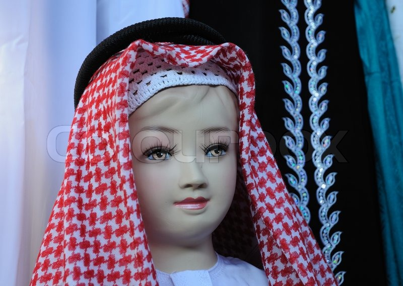 Dealers Of Clothes In Dubai Mail: Manikin In Traditional Arabic Dress, ...