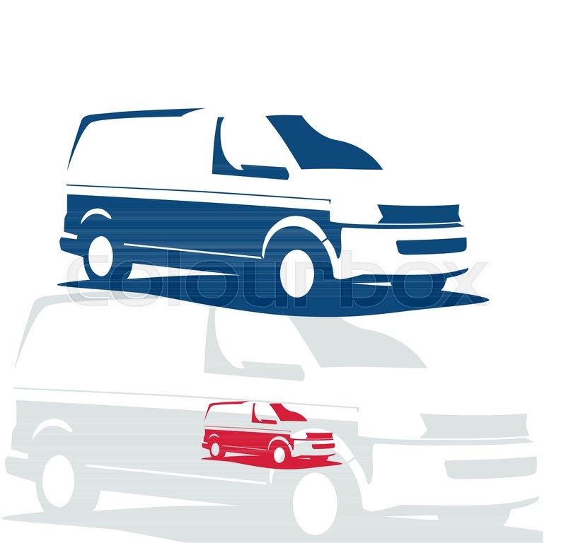 car repair or delivery service label vector logo design template rh colourbox com automotive repair logo template
