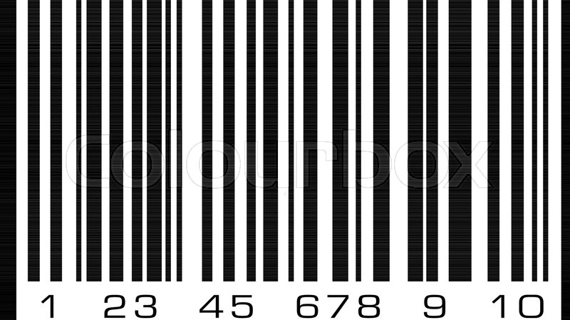 Abstract Bar Code Barcode Vector Icon Illustration