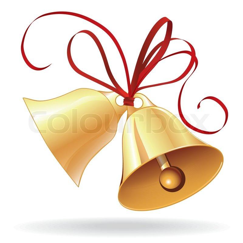 Weihnachten oder hochzeit mit roter schleife symbol