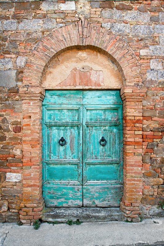 Old Dor In Tuscany Italy Stock Photo Colourbox
