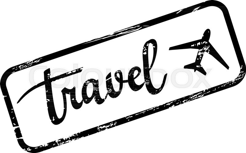 Vector Grunge Travel Stamp