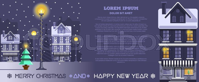 Merry christmas and happy new year horizontal banner with the 800pxcolourbox30161255g m4hsunfo