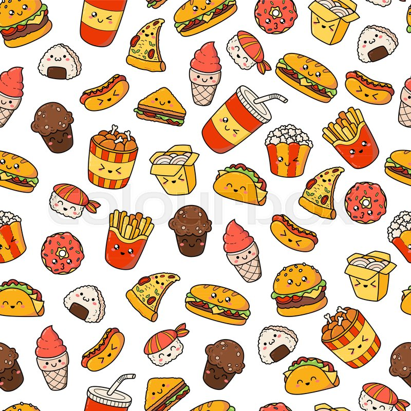 Junk Food Icons Tumblr