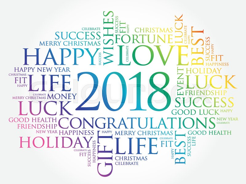2018 year greeting word cloud collage happy new year celebration 2018 year greeting word cloud collage happy new year celebration greeting card stock vector colourbox m4hsunfo Image collections