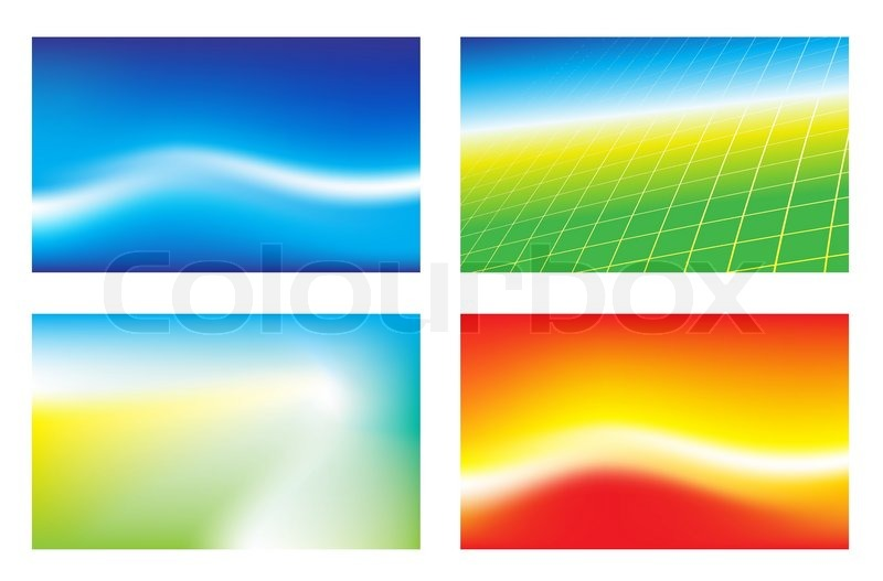 Abstract background for business cards | Stock Vector | Colourbox