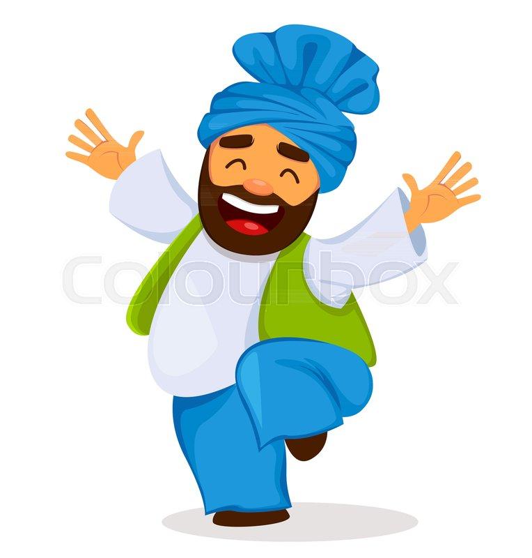 Popular Winter Punjabi Folk Festival Lohri. Funny Dancing