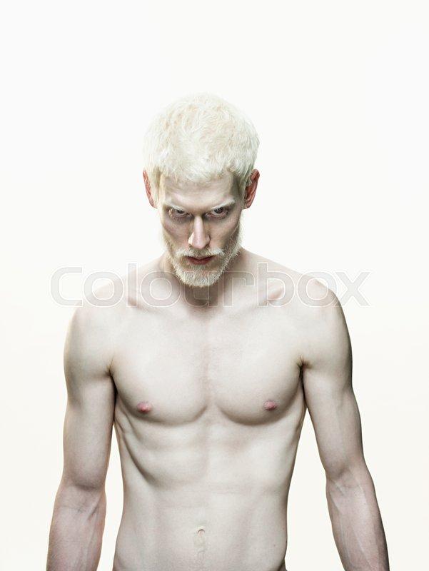 Nude albino men Nude Photos