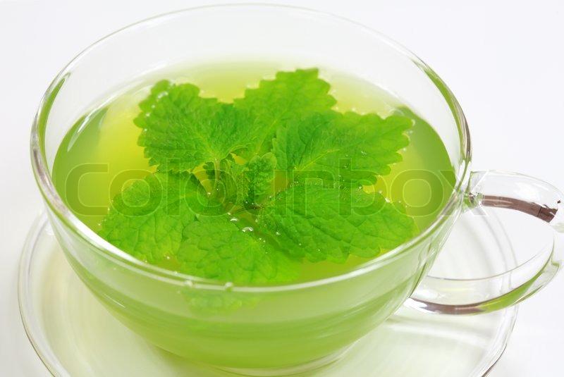 Рецепт зеленого чая с мятой