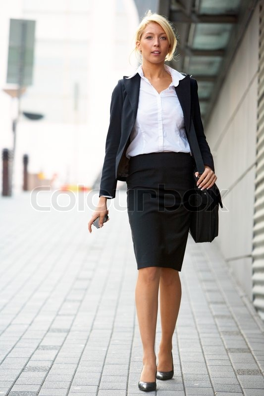 Female Lawyer Suit Young businesswoman wa...