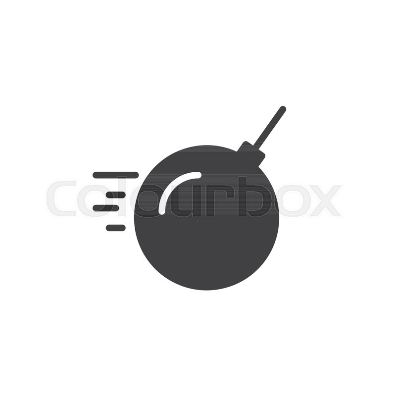 Demolition bomb icon vector, filled ... | Stock Vector ...