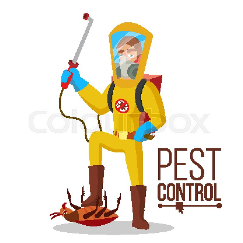 Pest Control In Boyertown Mail: Pest Control Vector. Prevention From ...