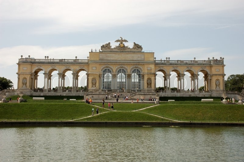 Editorial image of 'Schonbrunn Palace in Vienna, Austria'