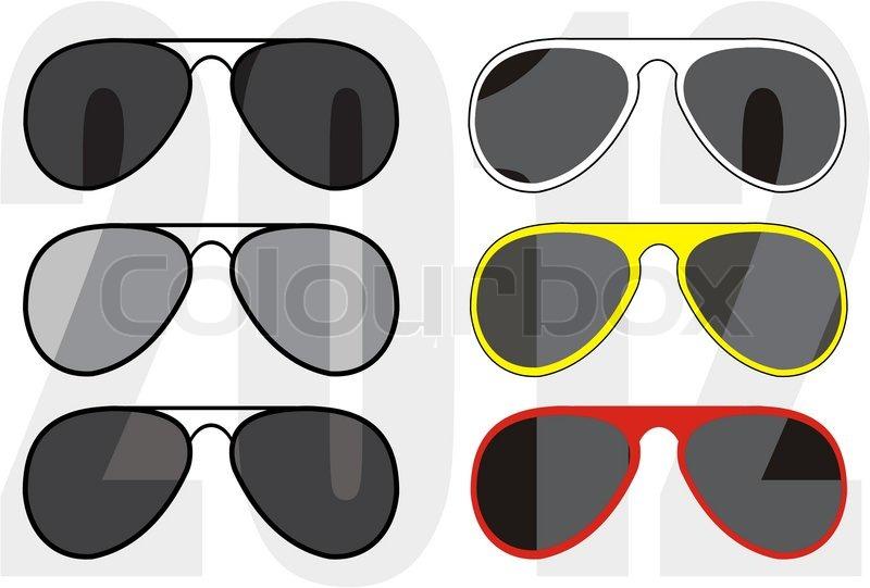 5fe021e384fe Stock vektor af  Isoleret illustration - indsamling fashionable klassisk (