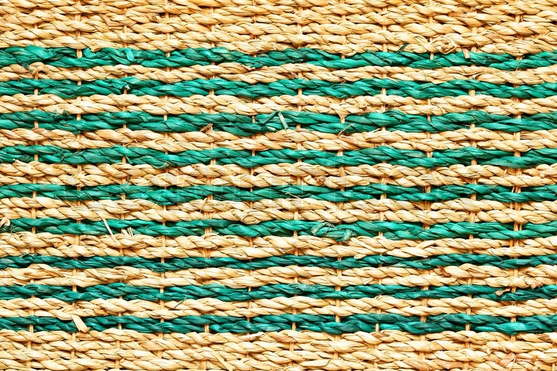 High definition shot of wicker texture close-up | Stock Photo | Colourbox