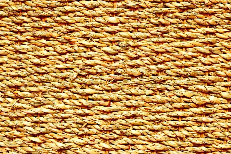 high definition shot of wicker texture close up stock
