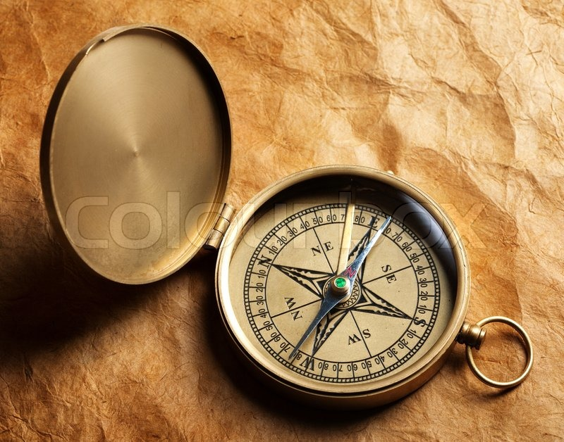 Old Fashioned Pocket Compass