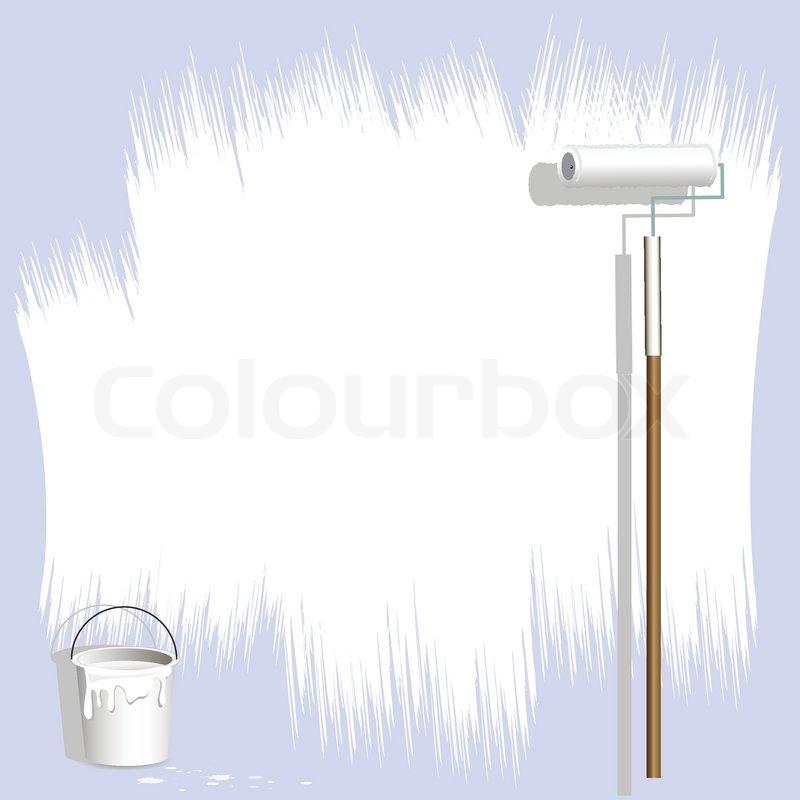 hvid maling