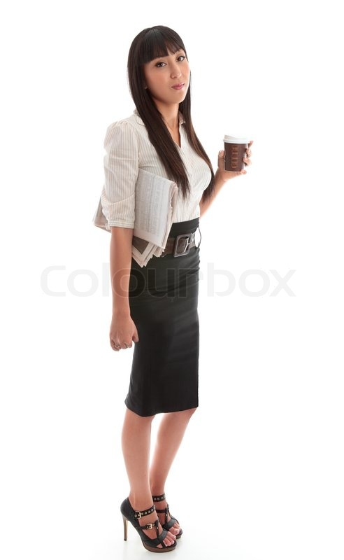 cb32d621ec7d26 A young successful businesswoman ... | Stock image | Colourbox