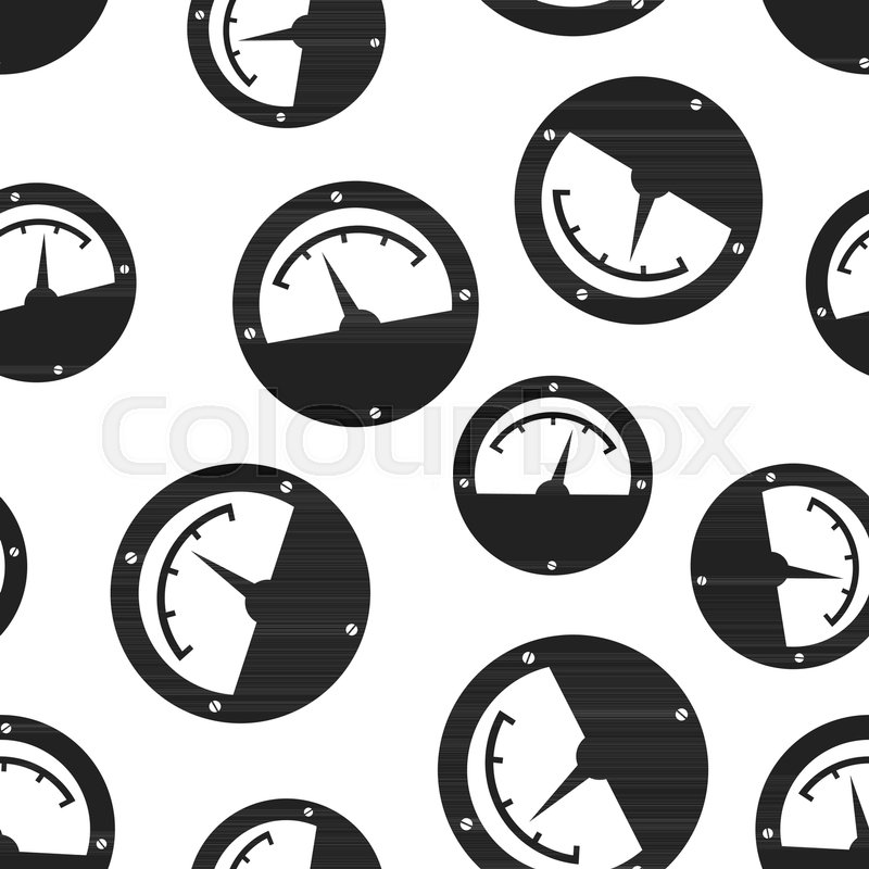 Electric meter seamless pattern background. Business flat vector ...