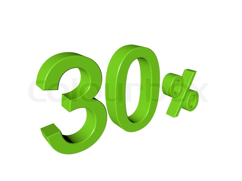 how to add 30 percent to a number