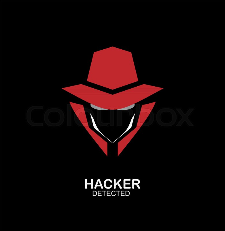 Spy Agent Secret Agent Hacker Stock Vector Colourbox