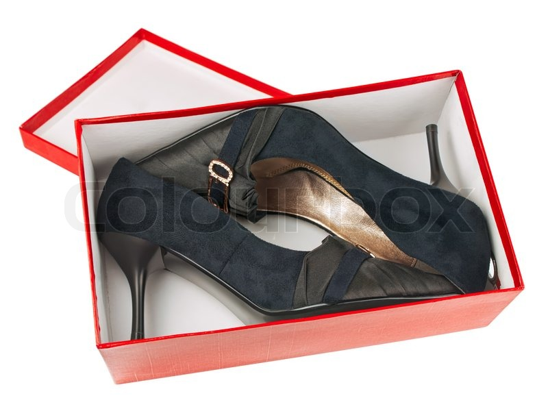 Woman classic shoes in the box over white background | Stock Photo | Colourbox  sc 1 st  Colourbox & Woman classic shoes in the box over white background | Stock Photo ... Aboutintivar.Com