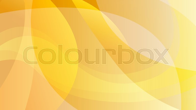 Abstract Orange And Yellow Color Stock Vector Colourbox