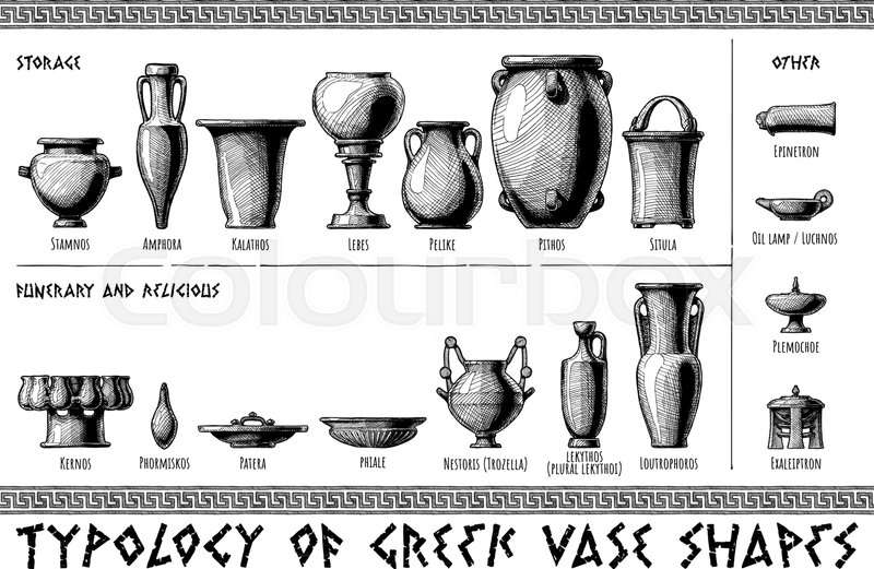 Typology Of Greek Vase Shapes Storage Funerary Religious And
