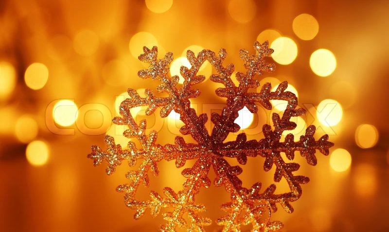 Orange And Gold Christmas Tree Decorations