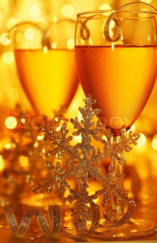 romantische ferien getr nk feier von weihnachten oder. Black Bedroom Furniture Sets. Home Design Ideas