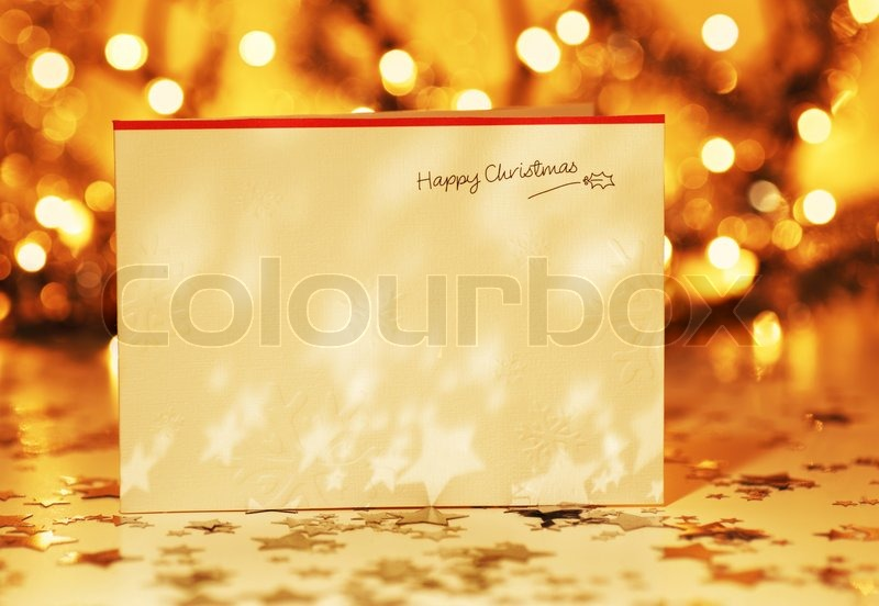 Christmas Holiday Background Photograph By Anna Om: Beautiful Gold Happy Christmas ...