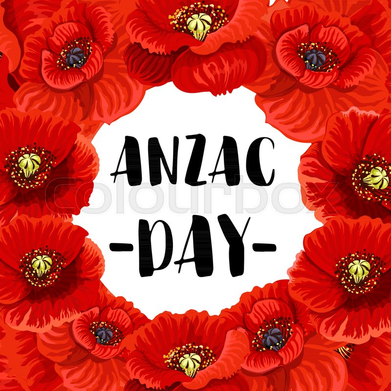 Anzac Day Australian And New Zealand War Memorial Greeting Card