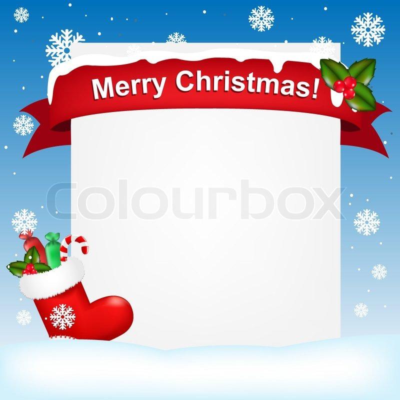 Frohe weihnachten und neujahr hintergrund vektor illustration vektorgrafik colourbox - Lightbox weihnachten ...