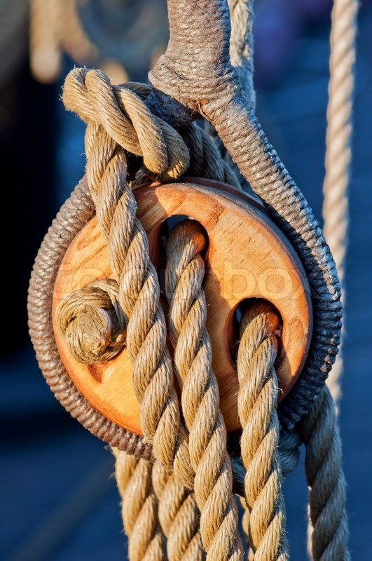 Image result for wooden rope block