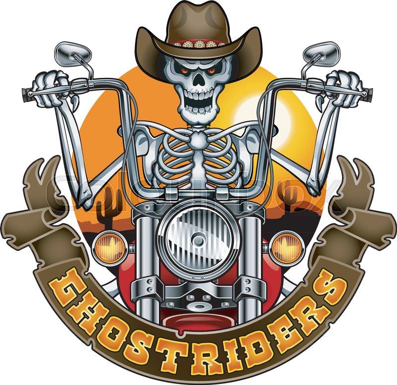 db72e56737b21 Skeleton with cowboy hat riding ...