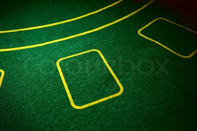Hintergrund Der Poker Tisch Im Stockfoto Colourbox
